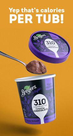 NEW Breyers® Delights is a delicious tasting ice cream that is high in protein, lower in sugar* and between 290-350 calories per tub (Yep, that's PER TUB!). Available in four delightful flavours; Cookies & Cream, Smooth Vanilla, Creamy Chocolate and Mint Chip. Find your favourite flavour today. #ImpossiblePossible   *Contains 45-60% less sugar per 100g than similar ice cream products