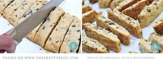 Walnut Cranberry Chocolate Biscotti