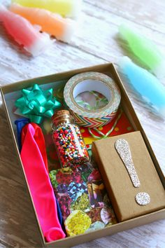 Glovebox Emergency Party Kit + Free Printables | Glitter in my Tea for dawnnicoledesigns.com