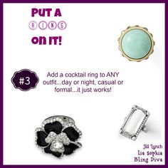 lia sophia ~ Have the turquoise ring.  LOVE it!!!