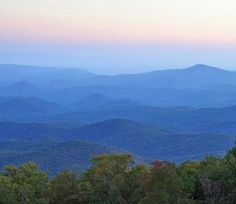 """""""Land of the Sky"""" ..... Near Asheville, NC"""