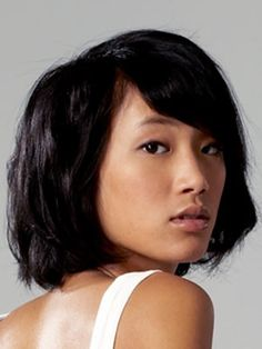 To turn fine hair into an amped-up bob, start with a volumizing shampoo and just a small amount of a conditioner that won't weigh down your tresses. Use a comb to create a dramatic part and side-swept bangs. After your hair is dry, use texturizing paste on the ends and dry shampoo on the roots to toughen up the style even more.  MARIE CLAIRE RECOMMENDS VOLUMIZING SHAMPOO like Aveda Pure Abundance Volumizing Shampoo, $30 TEXTURIZING PASTE like    Got 2B Magnetik Texturizing Pomade, $6.29 DRY…