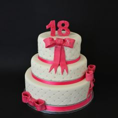 Design Cake Girly ©Une Fille en Cuisine