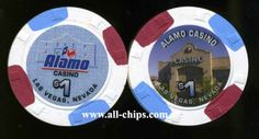 Alamo Casino Las Vegas NV can be ordered here http://www.all-chips.com/ChipDetail.php?ChipID=13555