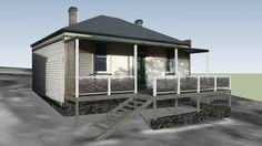 19th Century Cottage - 3D Warehouse
