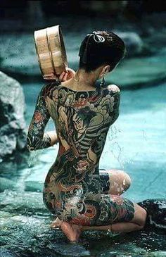 Japanese full body tattoo