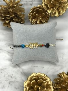 Unique Bracelets, Unique Jewelry, Good Luck Bracelet, Adjustable Bracelet, Gold Hoops, Gifts For Her, Charms, Christmas Gifts, Hoop Earrings