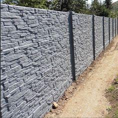 20m Sichtschutzzaun Betonzaun Beidseitige Struktur + Lieferung / Entladung  M2 | Garten U0026 Terrasse, Gartenzäune
