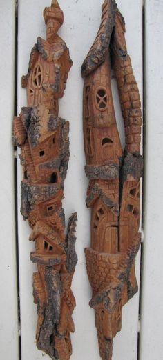 Cottonwood Bark - Whimsical Houses