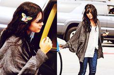Vanessa Hudgens, love this sweater