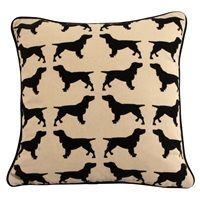 SPANIEL CUSHION.  A unique and Unusual Gift!  £29.99 + 4.95 Delivery!