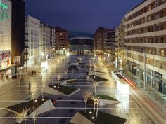 Avda Felipe II - Plaza Dalí Madrid   Francisco Mangado. Arquitecto