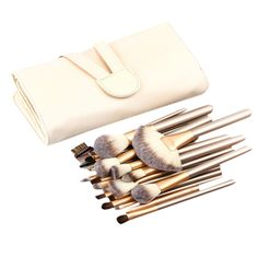 High Quality Wood Handle 24 pcs Professional Makeup Set Pro Kits Brushes Kabuki Cosmetics Brush tool kits