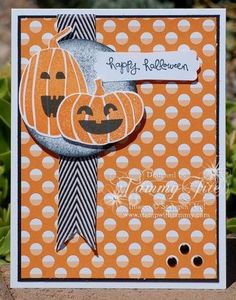 by Tammy Fite, Fall Fest, Pumpkin Pie, Basic Black, #stampwithtammy, #stampinup, #fallfest