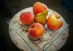 Porque la fruts, aparte de ser healthy, también es dulce. Peras, manzanas y melocotones