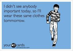 I sooo do this if I had a cute outfit during the work week and need to show it off to friends on the weekend!