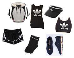 """Adidas Training Set"" by riahn-comte247 on Polyvore featuring adidas Originals and adidas"