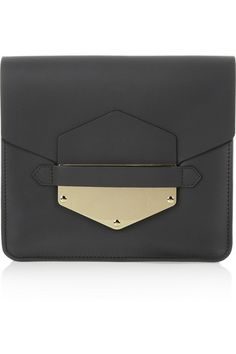 Arrow Leather Clutch | Sophie Hulme