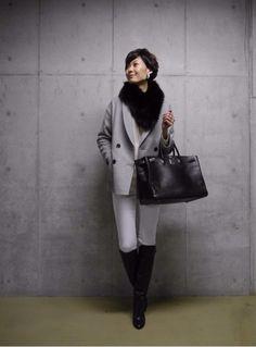 「Maki's wardrobe」の画像|田丸麻紀オフィシャルブログ Power… |Ameba (アメーバ) Denim Fashion, Fashion Outfits, Womens Fashion, Fashion Trends, Japanese Outfits, Japanese Fashion, Business Outfits, Business Fashion, Classy Casual