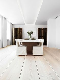 World's Most Beautiful Wood Floors; Dinesen in Denmark