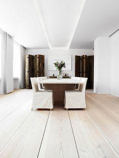 World's Most Beautiful Wood Floors; Dinesen in Denmark