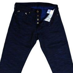 "ODJB001 18oz. ""Sapphire Slub"" Selvedge Jeans (High Tapered)"