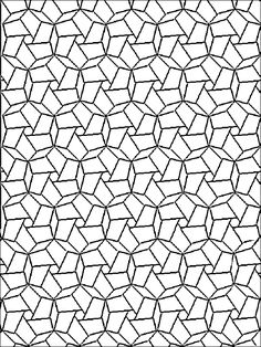 geometric design coloring pages # 10