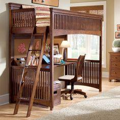 Bungalow Basics Loft Bed