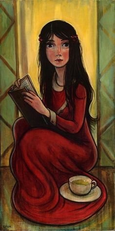 Painting by Kelly Vivanco