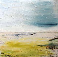 "Saatchi Art Artist: Timothy Huitson; Acrylic 2014 Painting ""Seascape Sussex"""