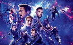 Avengers: Endgame is the most important superhero film of all time. Marvel's culmination of a journey, directed by the Russo Brothers, starring Chris Evans, Robert Downey Jr and Scarlett Johansson. Marvel Avengers, Captain Marvel, Chris Hemsworth Thor, Mark Ruffalo, Jeremy Renner, Robert Downey Jr., Iron Man, Karen Gillan, Marvel Universe