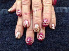 FSU glitter nails 2013