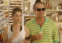 Still of Jack Nicholson and Amanda Peet in Something's Gotta Give