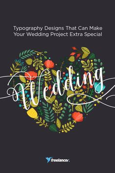Typography Designs That Can Make Your Wedding Project Extra Special Wedding Themes, Typography Design, Greeting Cards, Make It Yourself, Canning, This Or That Questions, Projects, How To Make, Blog