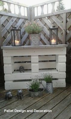 20 palette recycling ideas for your garden. Absolutely to copy! Garten - diy pallet creations 20 palette recycling ideas for your garden. Absolutely to copy! Garten The decoration of home is similar to a. Recycled Pallets, Wooden Pallets, Recycled Materials, 1001 Pallets, Diy Pallet Projects, Garden Projects, Outdoor Pallet Projects, Pallet Creations, Diy Garden Decor