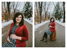 teri & jakoby's winter maternity session | mcdonald video & photography | The Babetown Collective