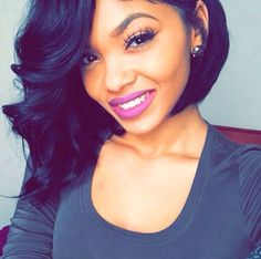 wanna give your hair a new look? Weave bob hairstyles is a good choice for you. Here you will find some super sexy Weave bob hairstyles, Find the best one for you, Weave Bob Hairstyles, Pretty Hairstyles, Relaxed Hairstyles, Black Hairstyles, Fashion Hairstyles, Medium Hairstyles, Hair Styles 2016, Short Hair Styles, Zottiger Bob
