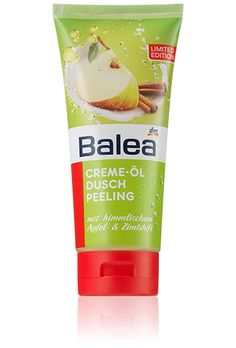 Balea Creme Öl Duschpeeling Apfel Zimt
