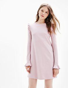new look · Robes pour femme - Bershka Robe, Femme, Vêtements Pour Les  Femmes, Robe À ca284920a65a