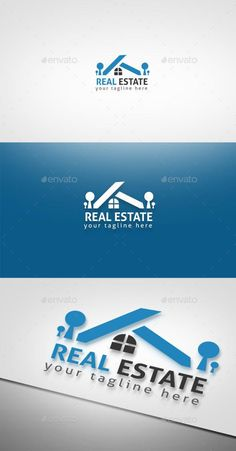 Buy Real Estate by Ark-Design on GraphicRiver. Logo of a Real estate. Fully vectors, this logo can be easily resize and colors can be changed to fit your project. G Logo Design, Real Estate Logo Design, Logo Design Template, Logo Templates, Graphic Design, Logan, Building Logo, Architecture Logo, Sell Your House Fast