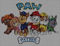 Paw Patrol Group Crochet Pattern