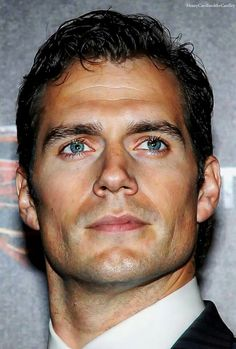 Henry Cavill.  As close to perfection as a man can be!