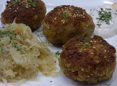 fischi`s cooking and more....: kaspressknödel mit sauerkraut