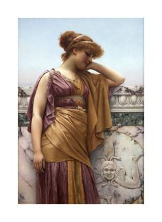 Memories by John William Godward 1892