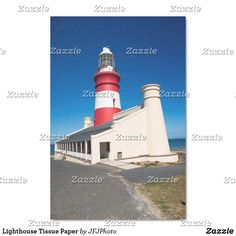 Shop Lighthouse Tissue Paper created by JFJPhoto. Custom Tissue Paper, Small Gifts, Just Go, My Images, Lighthouse, Presentation, Arts And Crafts, Artwork, Prints