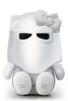 Storm Trooper Meets Hello Kitty   Mel c'est un autre bonhomme pour toi. :)