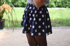#dots #polkadots #skirt #fashion