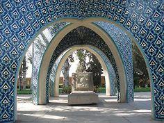 Kamal-al-Molk Tomb, Tehran, Iran by Elias Pirasteh