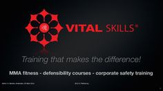Vital skills the ultimate health training concept in fitnessland! by Ron Nansink via slideshare