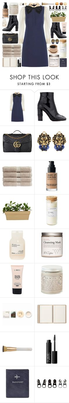 """These butterflies scare me to death, feel them beating out of my chest"" by pure-and-valuable ❤ liked on Polyvore featuring Gucci, Chloé, Christy, Davines, Korres, Barneys New York, Eve Lom, NARS Cosmetics, FOSSIL and Full Tilt"